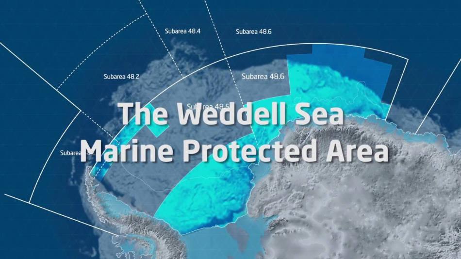 1,8 Mio. Quadratkilometer gross sollte das neue Schutzgebiet werden. (Bild: Alfred Wegener Institut, Youtube Screenshot)