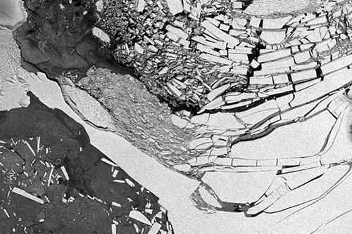 Wilkins-Ice-Shelf---Abbruch