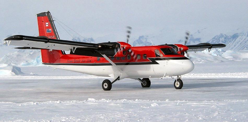 Die kanadische Ken Borek Air besitz die weltweit grösste Flotte von Twin Ottern.