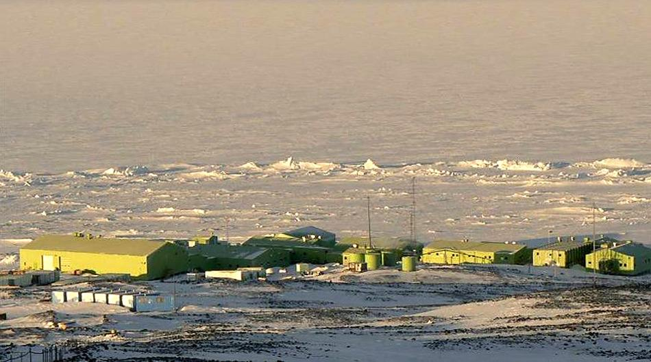 Die neuseeländischen Scott Base in der Antarktis. Foto: Katja Riedel