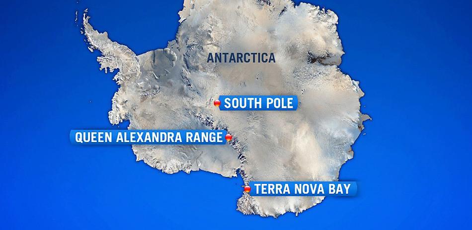 Geplant war ein Flug vom Südpol zur italienischen Station «Terra Nova Bay» in der Ross Sea. Der Flug endete auf eine tragische Weise am 4.480 Meter hohen Mount Elizabeth im Queen Alexandra Gebirge.