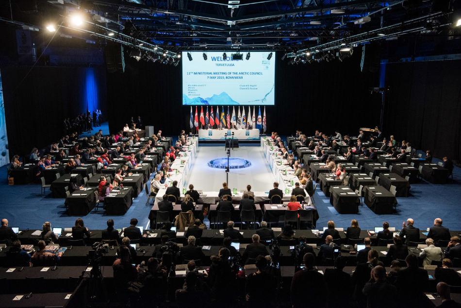 Die Sitzung des Arktischen Rates im finnischen Rovaniemi im Mai. Jouni Porsanger / Ministry for Foreign Affairs of Finland
