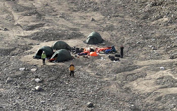 Spitzbergen-Camp