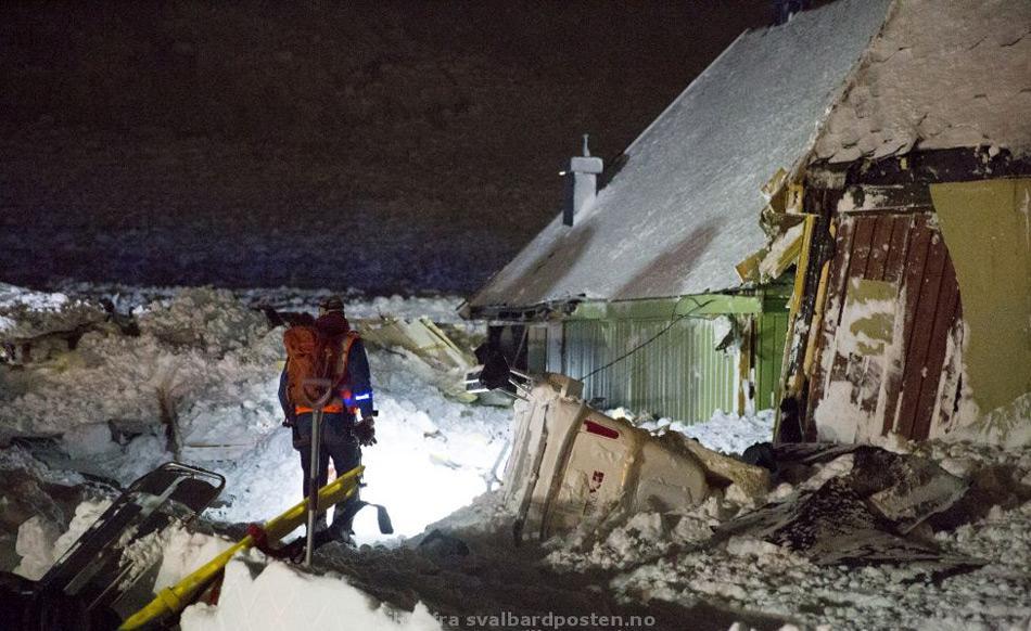 Lawine_Longyearbyen
