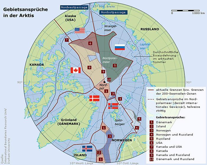 Karte-Arktis-Gebietsansprueche