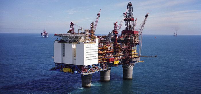 Statoil Ölplattform