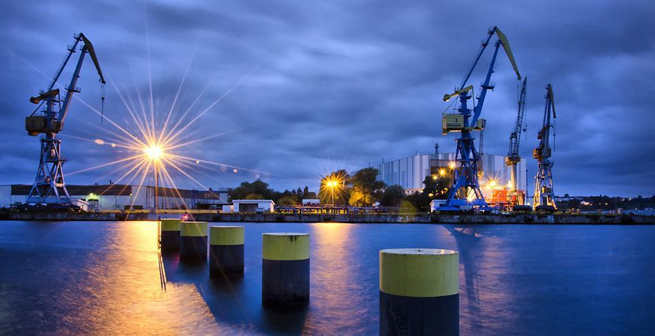 Die Nordic Yards Werft in Wismar.