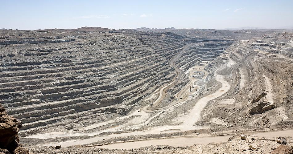 Wenn es nach der Regierung Grönlands geht dürfte es auch da schon bald aussehen wie in der Rössing Mine in Namibia