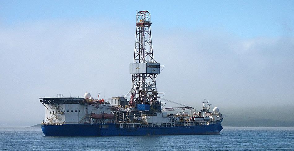 Die «Noble Discoverer», ein von Shell umgebautes Bohrschiff, wurde von Umweltschützern schon länger als