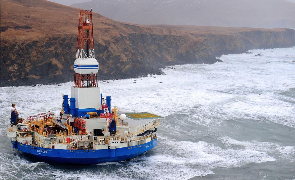 Die niederländische Gesellschaft Royal Dutch Shell hatte ihre Pläne für Bohrungen in der Arktis nach mehreren Fehlschlägen in der Tschuktschensee in die Schubladen zurückgelegt. Die Gründe offiziell: zu wenig Öl, technisch anspruchsvoll, zu teuer. Mit der Entscheidung von Präsident Obama werden diese Pläne auch wahrscheinlich dort bleiben. Bild: Nationalgeographic.com